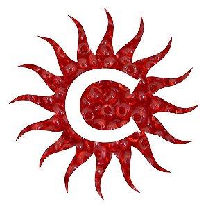 Missanga - Cristal - 500g - Vermelha