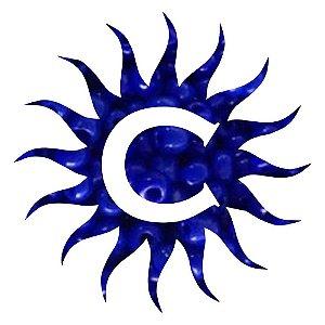 Missanga - Leitosa - 500g - Azul Escuro
