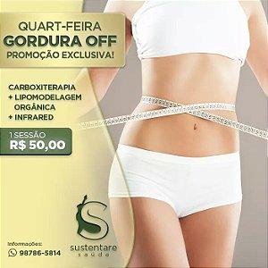 QUARTA-FEIRA GORDURA OFF