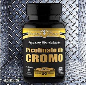 Picolinato de Cromo 280mg - 60 Cápsulas