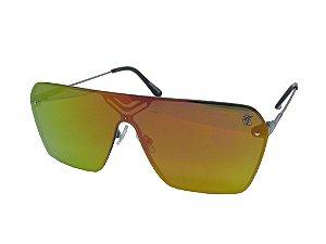 Óculos Flat Lens SG25098 Hardcore Line - Laranja