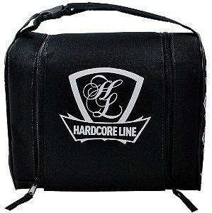 Bolsa Térmica Mini Hardcore Line Preta com Branca