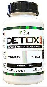 Detox (60 Cápsulas) - Mlife