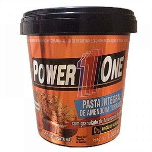 Pasta de Amendoim Integral Granulado (1kg) - Power 1 One