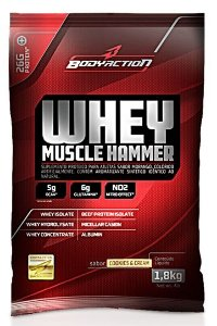 Whey Muscle Hammer (1.8kg) - Body Action