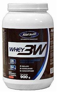 Whey Protein 3w (900g) - Nutri Health