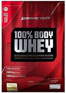 100% Body Whey (900g) Refil - Body Action