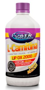 L-Carnitina 2000 (480ml) - Power Supplements