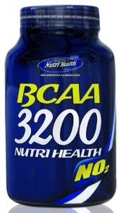 Bcaa 3200 NO2 (60 Cápsulas) 800mg - Nutri Health