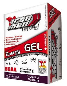 Energy GEL Iron Man (caixa fechada com 10 unidades) - New Millen