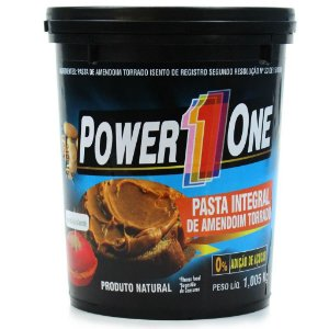 Pasta de Amendoim Integral (1kg) - Power 1 One