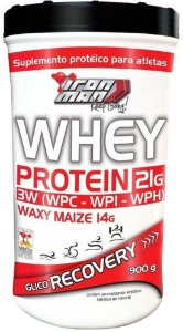 Whey Protein Recovery Iron Man (900g) - New Millen
