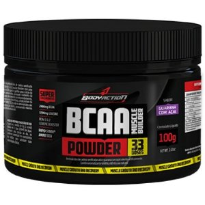 Bcaa Powder Muscle Builder (100g) - Body Action
