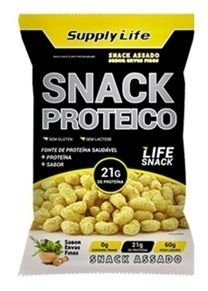 Salgadinho Snack Proteíco (60g) - Supply Life