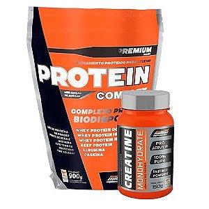 Protein Complex (900g) + Creatina (150g) - New Millen