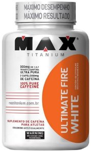 Ultimate Fire White (120 Cápsulas) - Max Titanium
