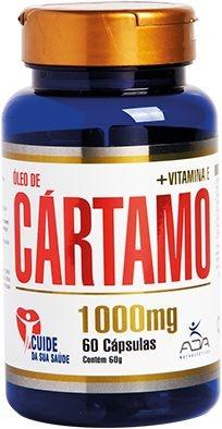 Óleo de Cartamo 1000mg (60 Cápsulas) - ADA
