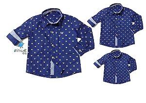 Kit camisa Evair - Família (três peças) | Pequeno Príncipe