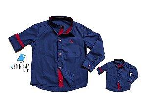 Kit camisa Léo - Tal pai, tal filho (duas peças)