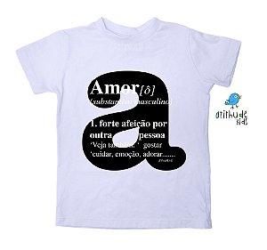 Camiseta Amor - Branca