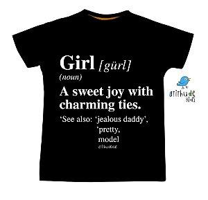 Camiseta - Girl | Preta