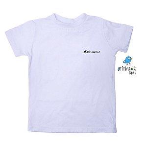 Camiseta AK- Atithudekids - Branca