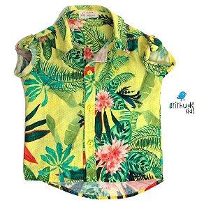 Camisa Enrico - Estampa Flores