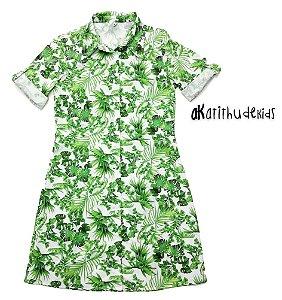 Vestido Pedro - Floral Verde | Adulto Feminino