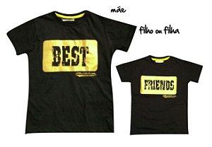 Kit camiseta Best Friends - Tal mãe, tal filho (a)