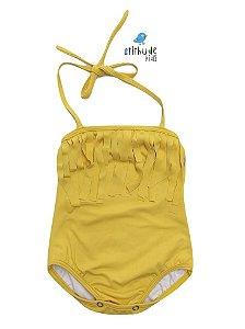 Maiô Infantil - Amarelo