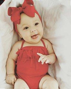 Maiô Infantil - Vermelho