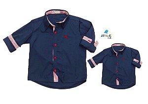 Kit camisa Heine - Tal pai, tal filho (duas peças)
