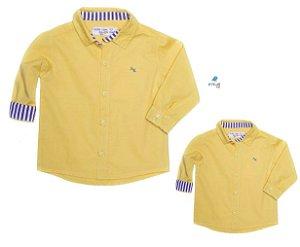Kit camisa Benício  - Tal pai, tal filho  (duas peças)