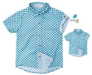 Kit camisa Oliver - Tal pai, tal filho (duas peças) | Fazendinha | Manga longa e curta