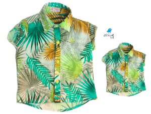 Kit camisa Alfredo - Tal pai, tal filho (duas peças)