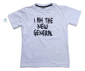 Camiseta - I am the new general - Branca