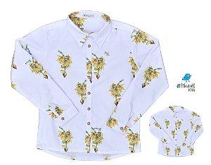 Kit camisa Sam - Tal pai, tal filho (duas peças) | Personalize com as inicias dos nomes