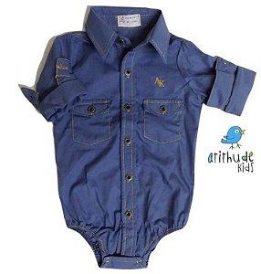 Kit camisa Valentino - Tal pai, tal filho (duas peças)