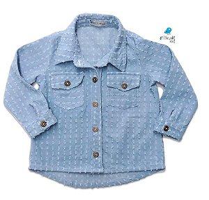 Camisa Thierry - Jeans Denin Azul Claro