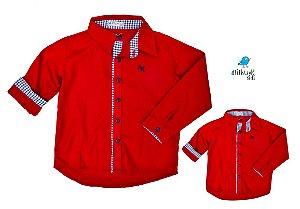Kit camisa Isaac - Tal pai, tal filho (duas peças) | Carros
