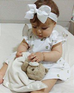 Vestido Pequena Princesa  - Estampa Coroas