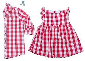 Conjunto Cadú - Vestido e Camisa | Fazendinha