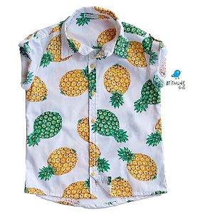 Camisa Thiago - Estampa Abacaxi