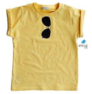 Camiseta Rayban  - Amarela