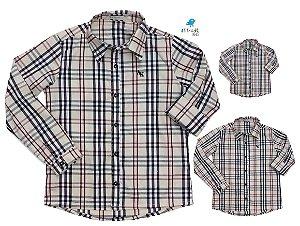 Kit camisa Rafael - Família (três peças) | Xadrez