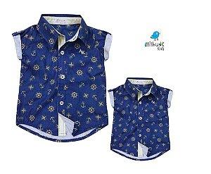 Kit camisa Bruno - Tal pai, tal filho (duas peças)  | Fundo do mar