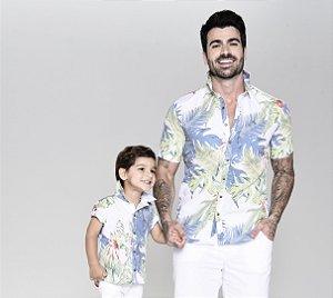 Kit camisa Vicente - Tal pai, tal filho (duas peças) | Surf
