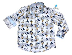 Camisa Mickey - Adulta  | Pluto Pato Donald Mickey