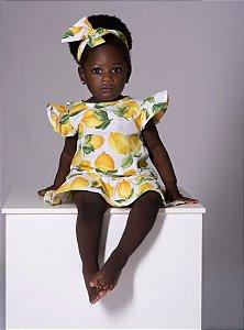 Vestido Antonella - Estampa limão