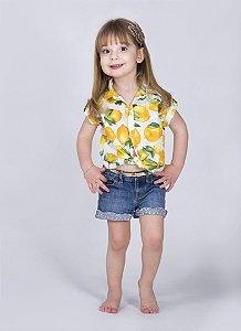 Camisa Victória - Estampa Limão